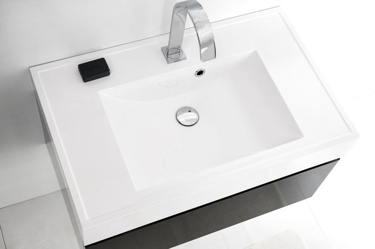 FSM collection in black & white #bathroom #furniture #washbasin #lazienka