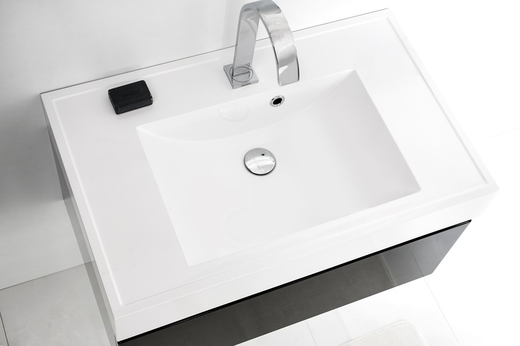 FSM collection in black & white #bathroom #furniture #washbasin #lazienka