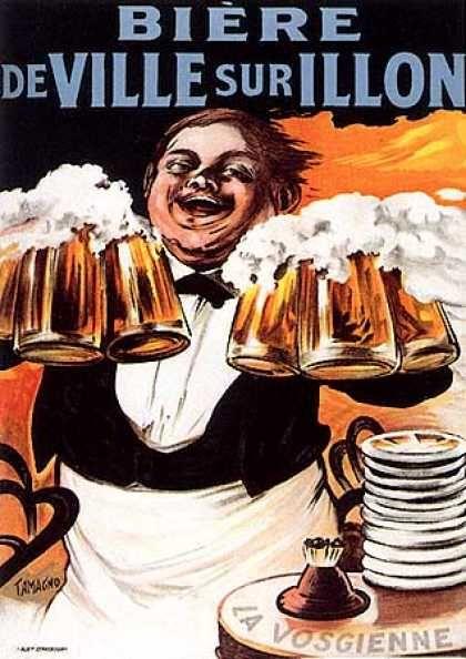 Biere de Ville Sur Illon by Tamagno (1905)