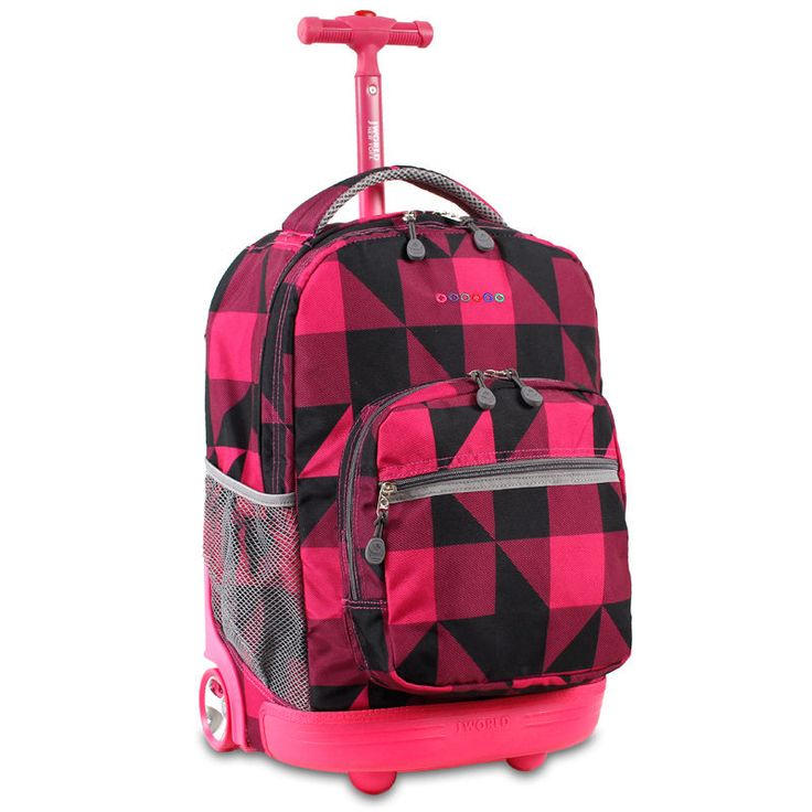 17 bedste idéer til Girls Rolling Backpack på Pinterest