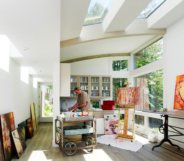 Home Office And Studio Designs: 17 Best Ideas About Art Studio Design On Pinterest