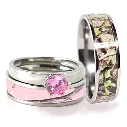 the 25 best mens camo wedding bands ideas on pinterest redneck - Pink Camo Wedding Rings For Her
