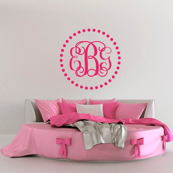 Best Monogram Wall Decals Images On Pinterest Monogram Wall - Family monogram wall decals