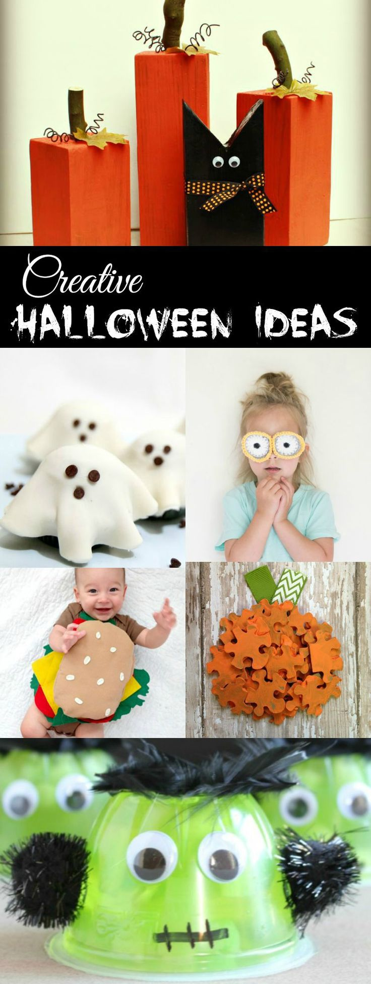 Creative Halloween Ideas collected by The Melrose Family