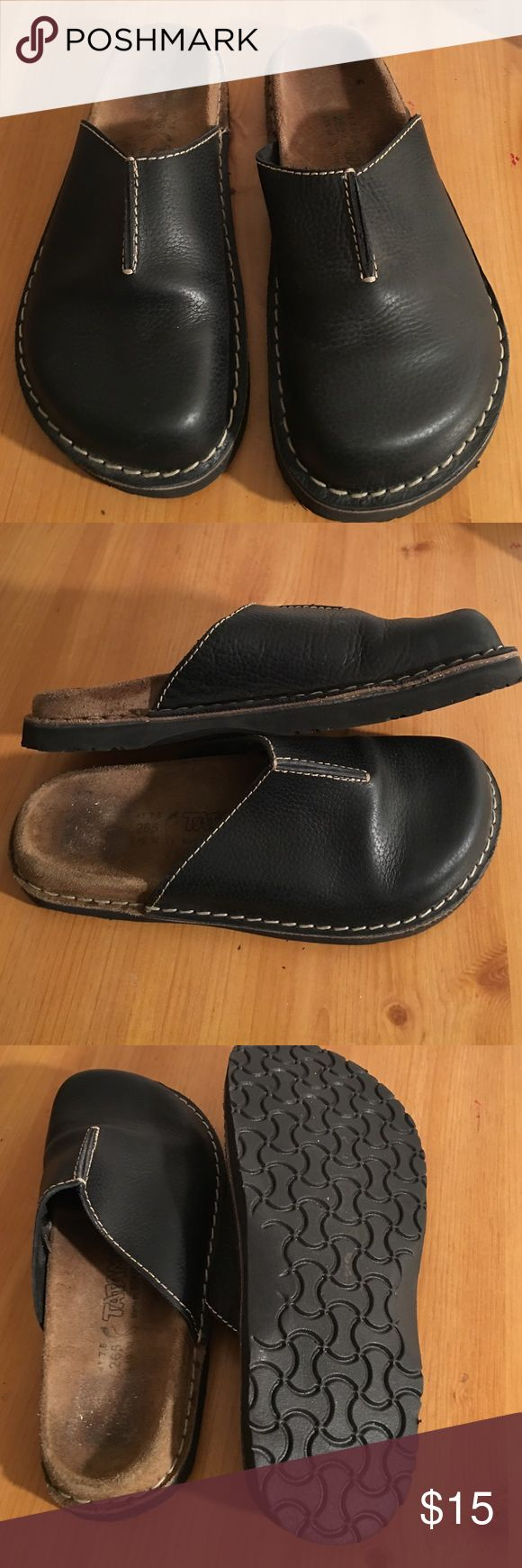 BIRKENSTOCK LEATHER CLOSED TOE SHOES SIZE 10 VGC PREOWNED BARELY WORN VERY GOOC CONDITION BIRKENSTOCK TATAMI CLOSED TOE SHOES GOOD STRONG LEATHER PEBBLE GRAIN SIZE LADIES 10 BIRKENSTOCK Shoes Mules & Clogs