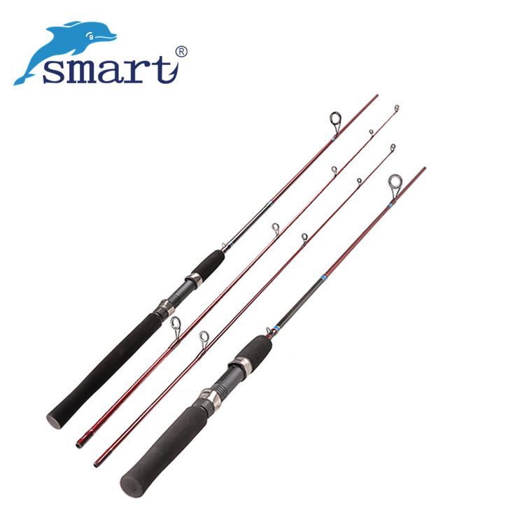 Smart 2Section Fishing Rod 1.68m/1.8m Carbon M/L Carp Fish Stand Pole Vara Cana De Pesca Spinning Rod Guide Peche Bal?k tutma yemler recreational fishing <3 AliExpress Affiliate's Pin. Click the VISIT button to view the details