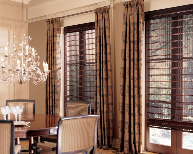 Provenance® Woven Woods By Hunter Douglas With Drapery Accents. Brought To  You Innovative Window Treatments.
