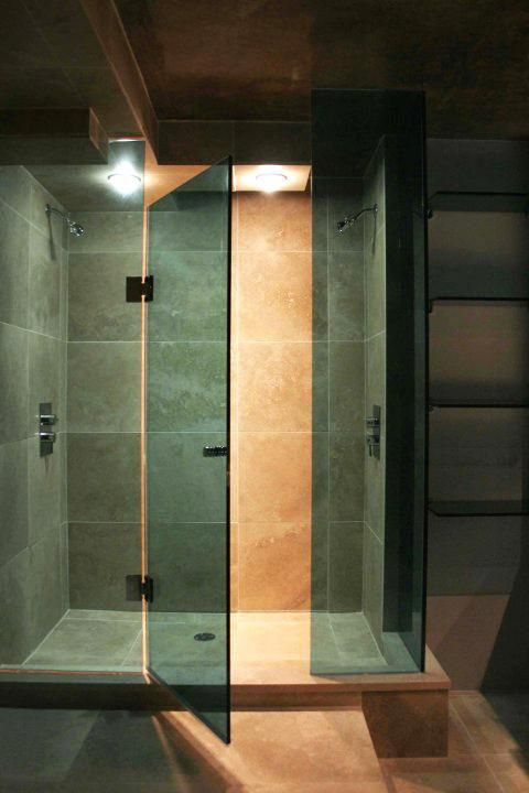 Tempered Glass Shower Walk In | Custom Designed Bathroom Spa Retreat | Fenelon Falls, ON General Contractor | 1 Stop Home Solutions