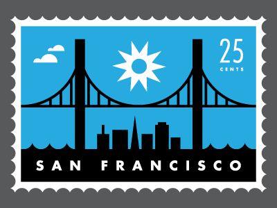 San Fransisco Stamp
