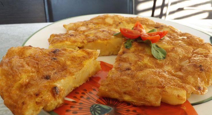 TORTILLAS SPAGNOLE ecco le buonissime tortillas di patate! sono facili da fare e veramente buonissime!