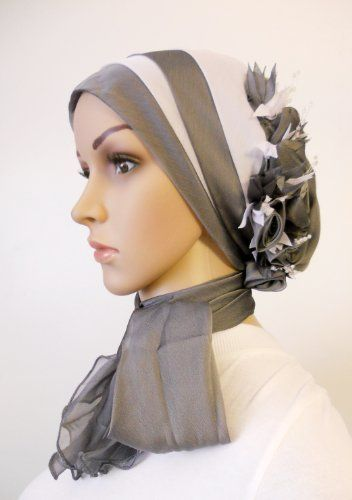 Hijab Bonnet Head Scarf - Gray and White ORM,http://www.amazon.com/dp/B009H6KN8W/ref=cm_sw_r_pi_dp_Sc.Dsb0XG4EYBK17