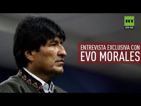 """(2141) Evo Morales a RT: """"El reparto imperial del pasado se convirtió en una invasión con bases militares"""" - YouTube"""