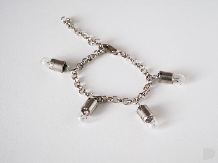 bulb bracelet. PINKA