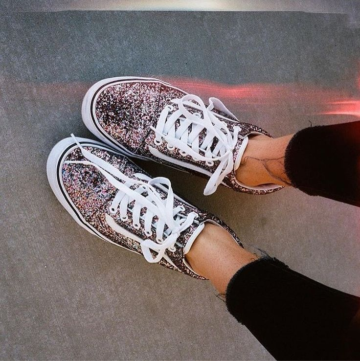 Such pretty petrol or glitter vans a la ferne cotton