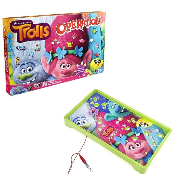 Operation Game: DreamWorks Trolls Edition #Operation