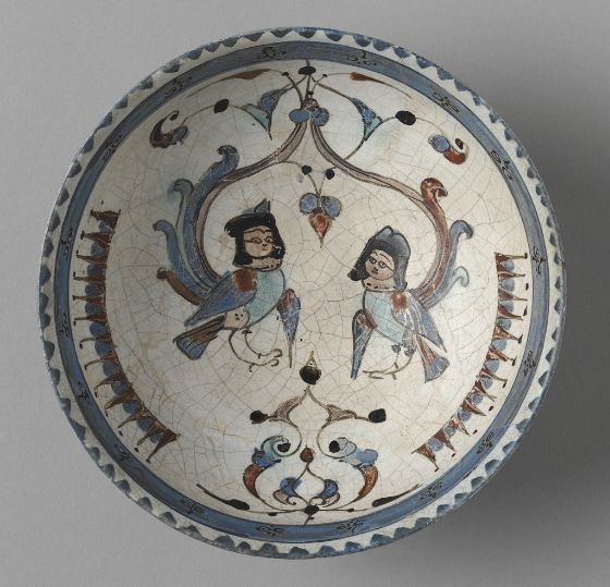 Bowl with Harpies, late 12th-early 13th century Vessel 12th-13th century Seljuk-Atabeg period, AH 492-590 / AD 1038-1220s Creation Place...