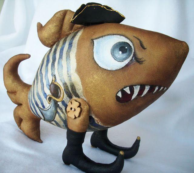 Сказки у камина...: Рыб-Пират-Гроза морей