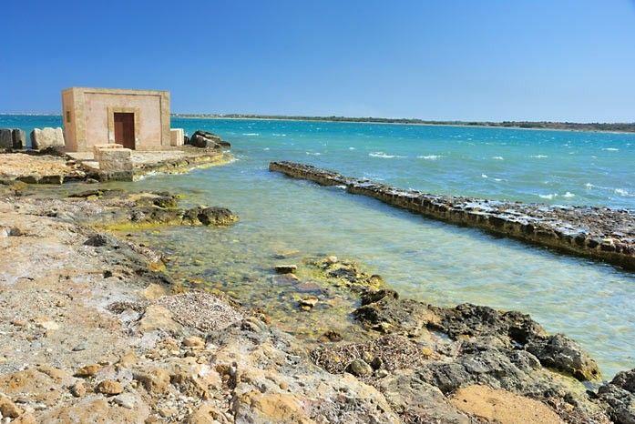 Vendicari's Nature Reserve, Sicily (Italy).