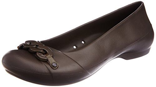 crocs Women's Gianna Link Flat