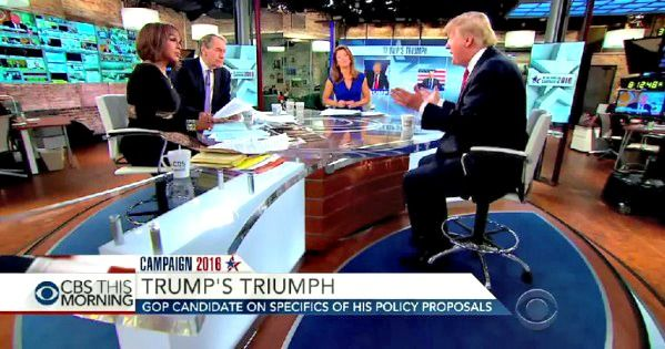 Watch As Donald Trump Explains The Syrian Conflict And Working With Russia - TV Hosts Stunned