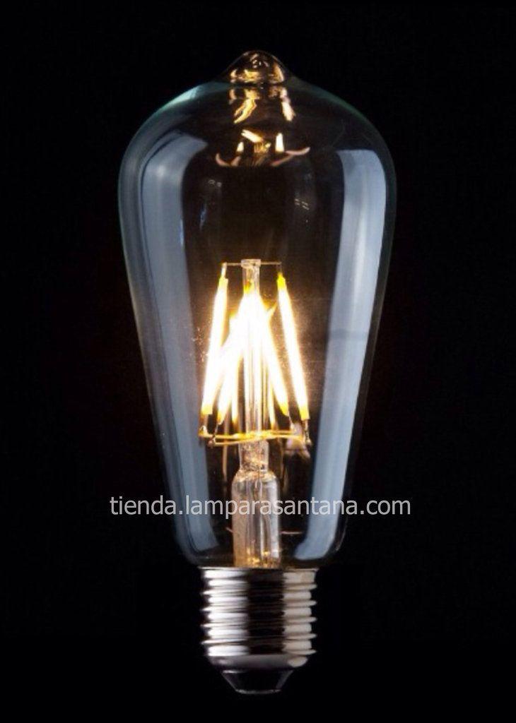 Bombilla led decorativa pebetero 4W / 6W