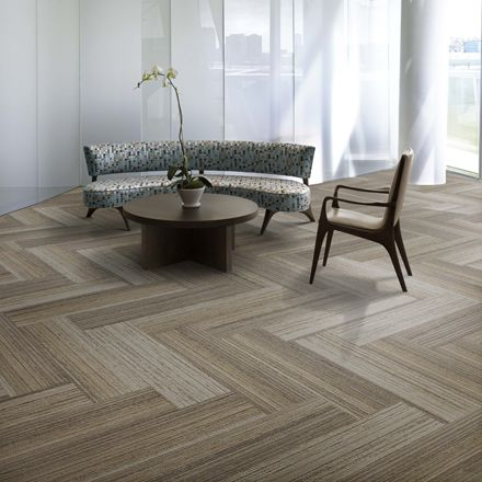 InterfaceFLOR Walk the Plank, wood look with the softness of carpet. Beautiful!