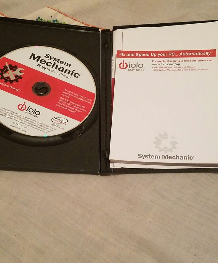 Iolo System Mechanic Plus System Shield | Computers/Tablets & Networking, Software, Drivers & Utilities | eBay!