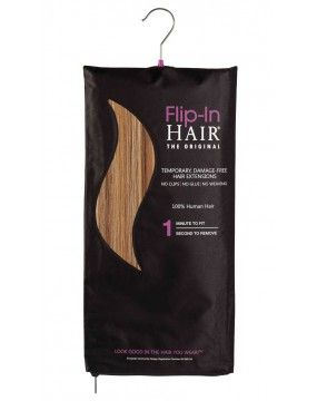 Colour 6/27 Golden Brown/Butterscotch - Flip-In Hair Extensions