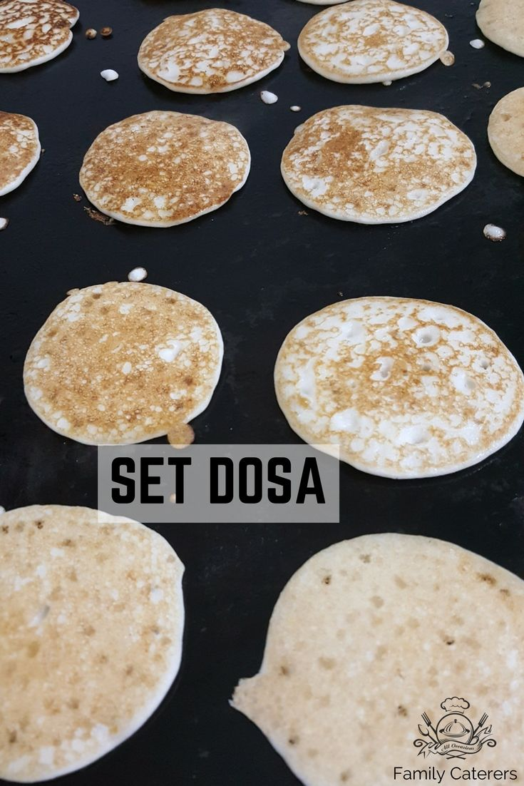 Set dosa an authentic South Indian cuisine is well known internationally as Sponge dosa.  #familycaterers #derebailmangalore #manglore #mangalore #catering #service #dosa #ricedelicacies #southindian #cuisine #breakfast #foodie #foodporn #foodblogger #spongedosa #setdosa
