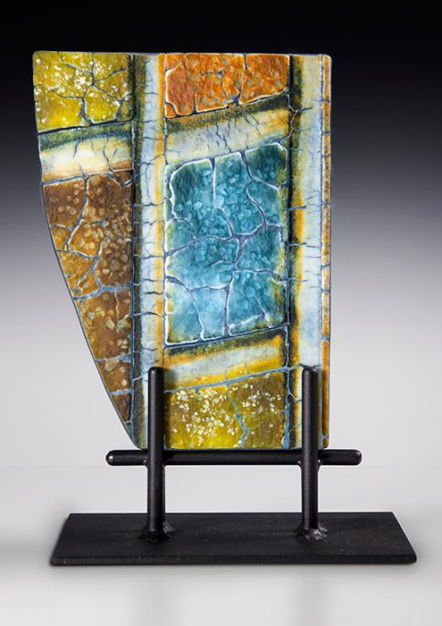 Fused Glass by Nancy Cann   www.cellarart.com.