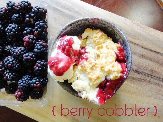 Berry cobbler, Cobbler and Berries on Pinterest