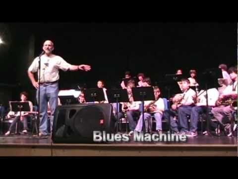 PBC Jazz Camp: Blues Machine, Nick Patsis conducting