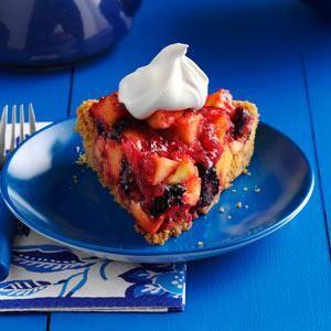 Blackberry Nectarine Pie *5 Ingredients *Eat Smart   Simple & Delicious