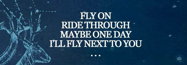 Fly on... Fly on... — O (Fly On) by Coldplay #GhostStories