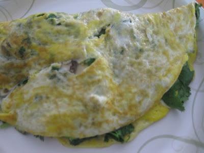 Mushroom, Cilantro ( and feta) Omelet | Egg Recipes - Sunny Side Up ...