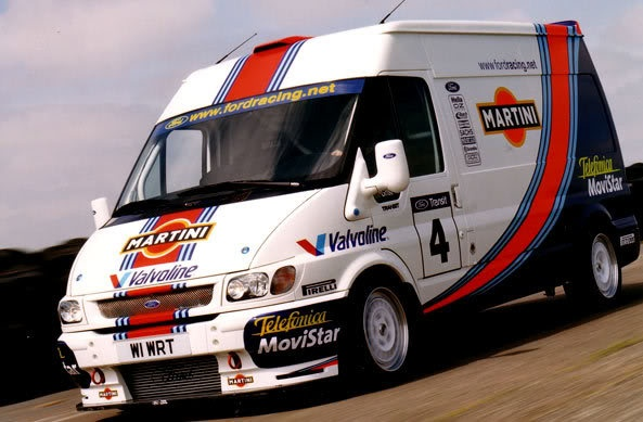 Martini Racing Ford Transit