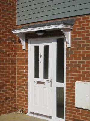 Timber Door Canopies Flat Roofed Canopies Leaded