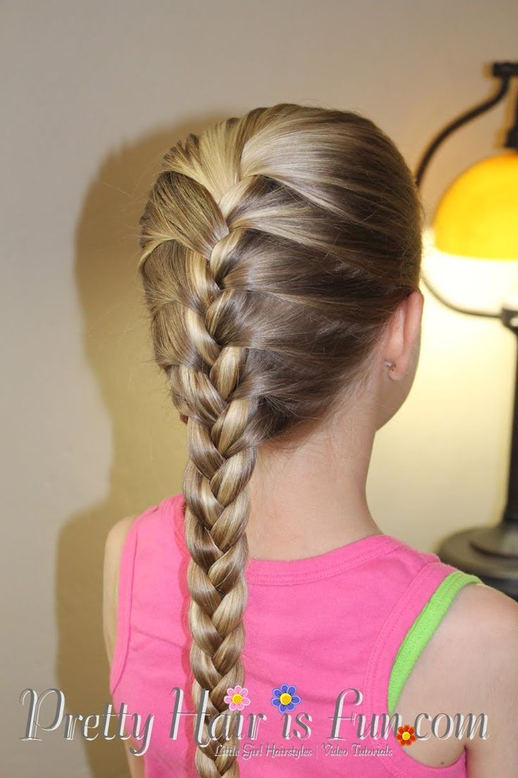 How To Do A French Braid Tutorial  Pretty Hair Is Fun