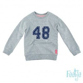 Feetje Sweater Campus   Mamos Kinderkleding