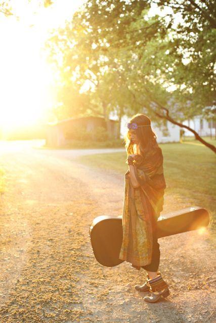 On the road again: The Roads, Gypsy Soul, Feathers Junkie, Hippie Boho Guitar, Boho Gypsy Style, Gypsy Life, Bohogypsi Style, Free Spirit Hippie, Hippie Gypsy
