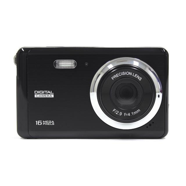 16MP Digital Camera - Black