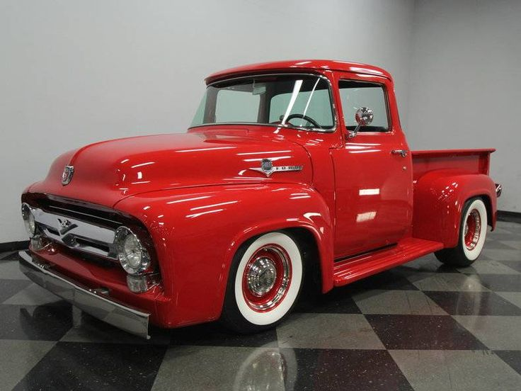 1956 Ford Pickup Truck...Re-pin brought to you by agents of #Carinsurance at #HouseofInsurance in Eugene, Oregon...Call for a Quote 541-345-4191