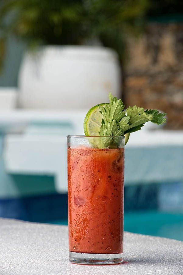 Bloody Mary @ the pool