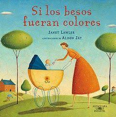 """Juan Mata Anaya, con su especial modo de contar los cuentos, nos hizo disfrutar mucho con el cuento """"Si los besos fueran colores"""" escrito por Janet Lawler."""