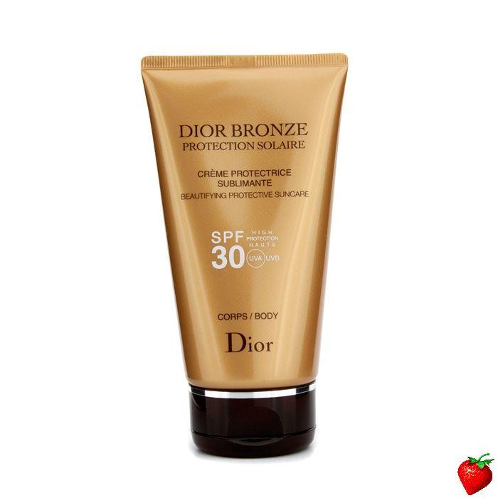 Christian Dior Dior Bronze Beautifying Protective Suncare SPF 30 For Body 150ml/5.4oz #ChristianDior #Skincare #SunScreen #SummerSpecials #Summer #Beach #Beauty #HotPick #FREEShipping #StrawberryNET
