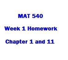 MAT 540 Week 1 Homework Chapter 1 and 11 1. The Retread Tire Company recaps tires. The fixed annual cost of the recapping operation is $65,000. The variable cost of recapping a tire is $7.5. The company charges$25 to recap a tire. a. For an annual volume of 15, 000 tire, determine the total cost, total revenue, and profit. b. Determine the annual break-even volume for the Retread Tire Company operation.