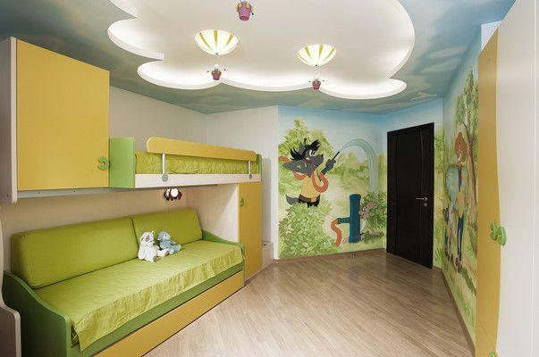 детская из проекта, реализованного студией «Архитектура и дизайн».