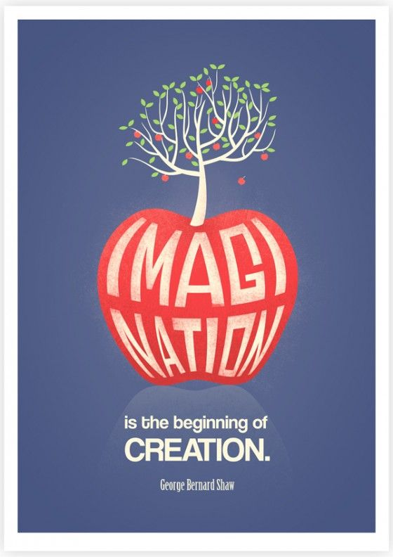 """Imagination is the beginning of Creation.""  George Benard Shaw"