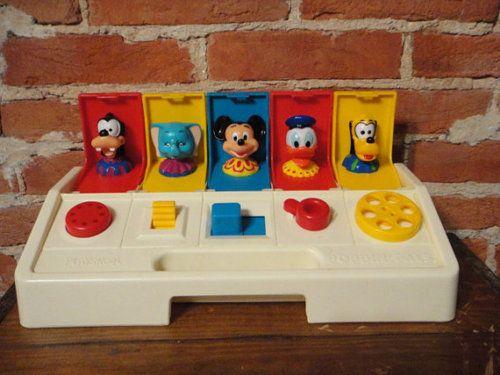 Playskool Poppin' Pals Disney - Sawyer & Devin had this. :)