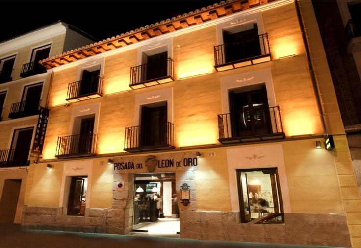posado del leon de oro. Old Madrid . style tavern and bar TL Dec 2014
